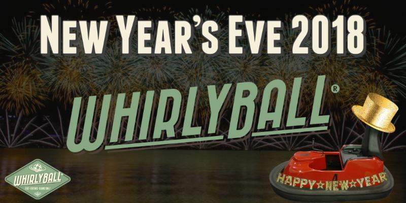 New Year's Eve Party at WhirlyBall Chicago!
