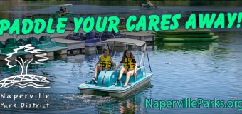 Naperville Park District Paddleboats and Kayaking