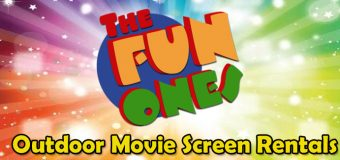 The Fun Ones Outdoor Movie Screen Rental Coupon