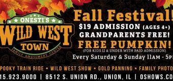 Onesti's Wild West Town Fall Festival