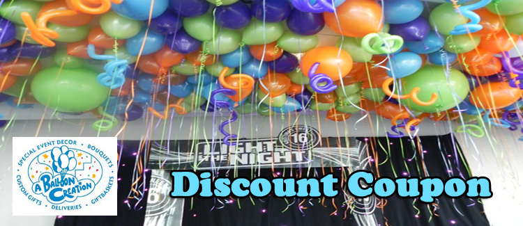 A Balloon Creation Coupon