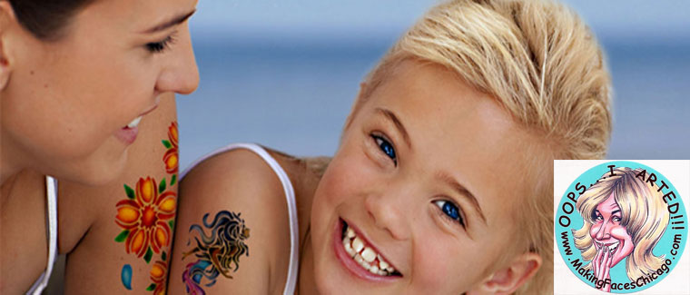 Get Your Ink On With Temporary Airbrush Tattoos