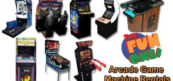 The Fun Ones Arcade Game Machine Rentals