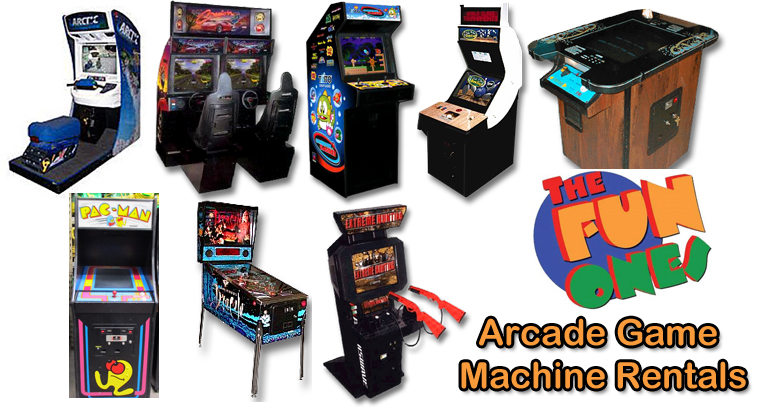 The Fun Ones Arcade Game Machine Rentals