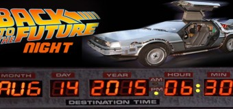 "Cougars to Celebrate ""Back to the Future"" Night on August 14"