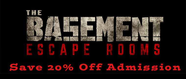 Basement of the Dead Escape Rooms Coupon