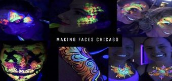Black Light Face Painting Parties
