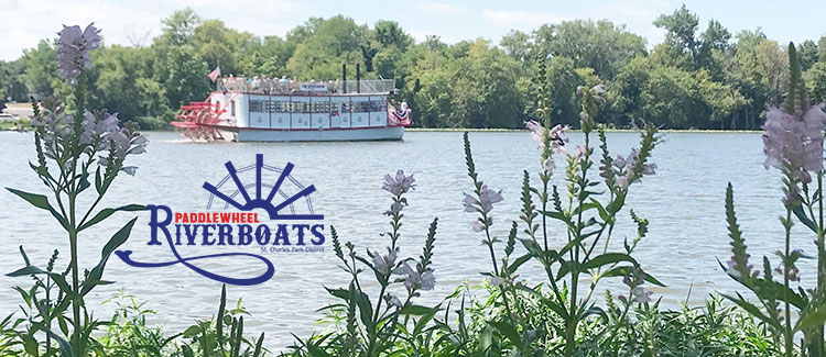 St. Charles Paddlewheel Riverboats Roll Down the River and Back in Time