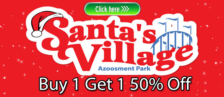 Santa's Village Discount Tickets Buy 1 Get 1 50% Off