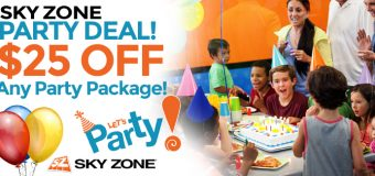 Sky Zone Elmhurst Party Deal Coupon