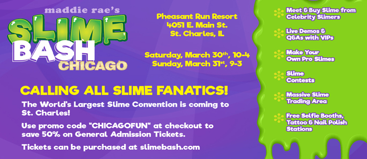 Slime Bash Chicago Discount Tickets