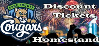 Kane County Cougars Home Stand Preview -July 13 – 16, 2017