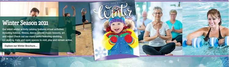Elk Grove Village Park District Winter Activities Guide