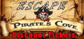 Escape Pirates Cove Discount Tickets