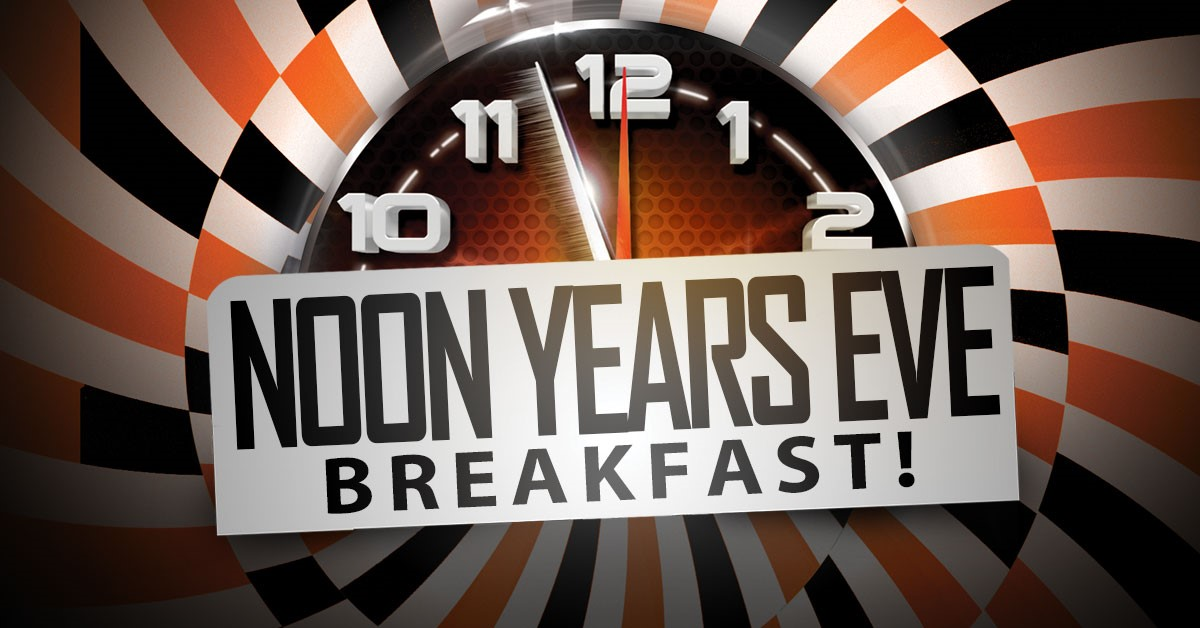 Odyssey Fun World Noon Years Eve Breakfast Party For The Whole Family