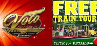 Volo Auto Museum Free Train Tours