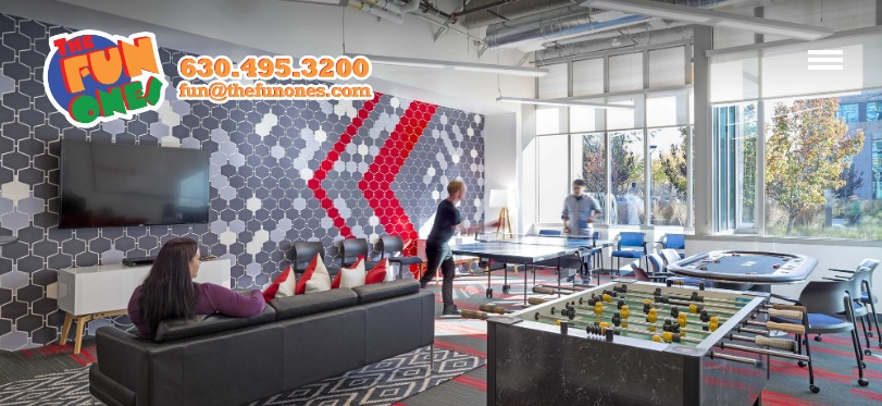 The Fun Ones Corporate Game Room Leases