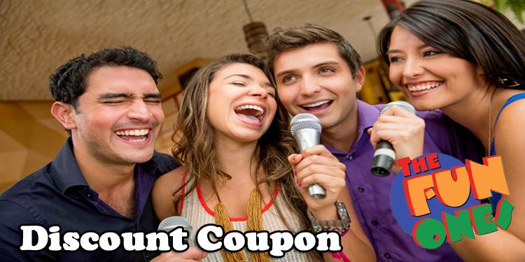 The Fun Ones Karaoke Parties Coupon