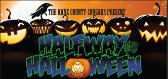 Kane County Cougars Half Way To Halloween Theme Night