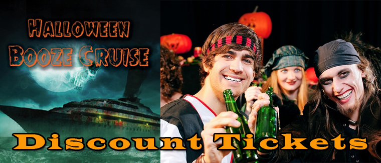 Chicago Party Boat Halloween Booze Cruise Discount Tickets