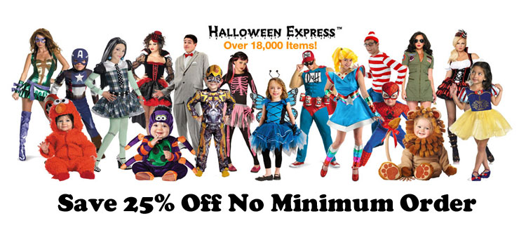 Halloween Express Discount Halloween Costumes Decorations ...