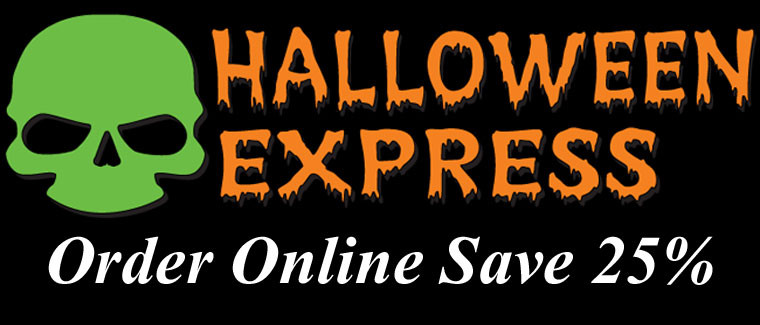 Halloween Express Save 25% Off Online Orders