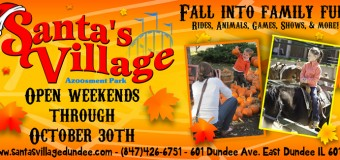 Santa's Village Azoosment Park Annual Harvest Fest Coupon