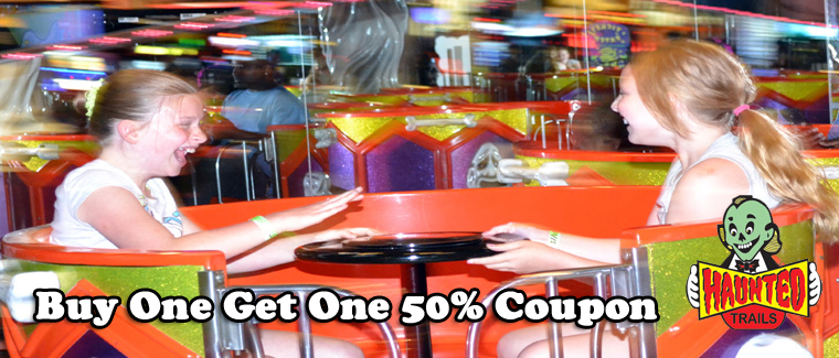 Haunted Trails Family Entertainment Center Joliet Coupon
