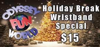 Odyssey Fun World Winter Break Specials