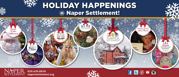 Holiday Happenings At Naper Settlement