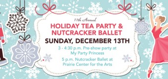 My Party Princess Holiday Tea Party and Nutcracker Ballet