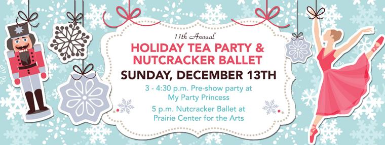 My Party Princess Holiday Tea Party and Nutcracker Ballet