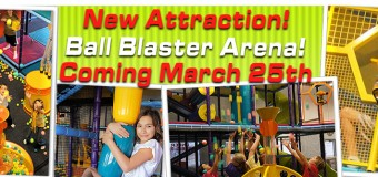 Epic Air's New Ball Blaster Arena Is Here!