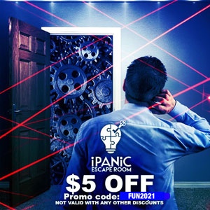 iPanic Escape Rooms Discount Tickets