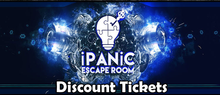 iPanic Escape Room Coupon