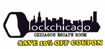 Lock Chicago – Escape Room Games Coupon