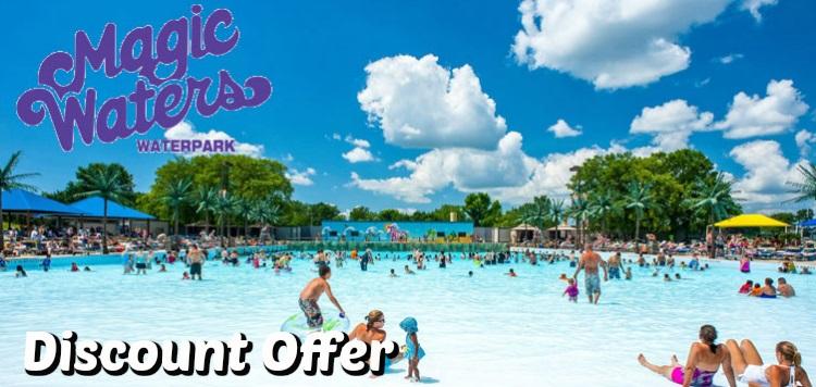 Magic Waters Waterpark Discount Coupon