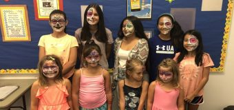 Face painting workshop now available for your next Library or Camp event with Margi Kanter!