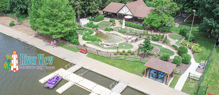 River View Miniature Golf Course St Charles Illinois