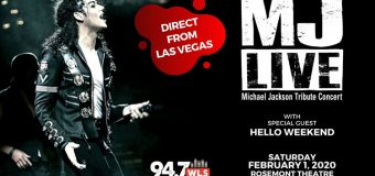 MJ LIVE – Michael Jackson Tribute Live on Stage at Rosemont Theatre