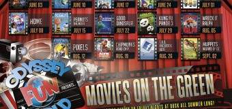 Odyssey Fun World Tinley Park Free Movies On The Green Every Weekend This Summer
