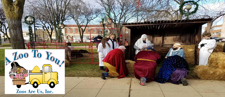 A Zoo To You Live Nativity Scenes