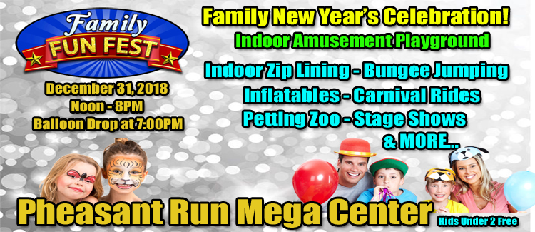 Family Friendly New Year's Eve Party