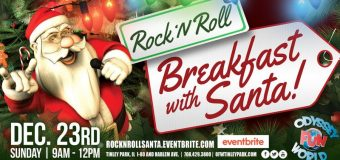Rock 'N Roll Breakfast With Santa & DJ Jimmy Jamz! at Odyssey Fun World Tinley Park