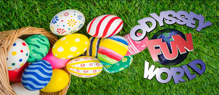 Odyssey Fun World Easter Egg Paint & Play