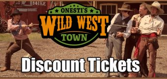 Onesti's Wild West Town Discount Tickets