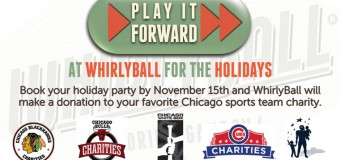 Play It Forward At WHIRLYBALL For The Holidays!
