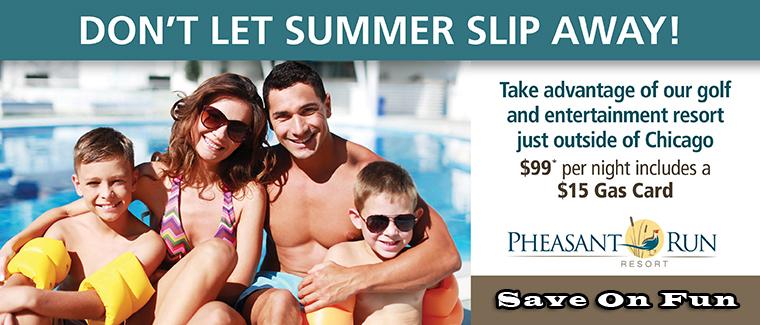 Pheasant Run Resort Labor Day Weekend Family Fun Discount