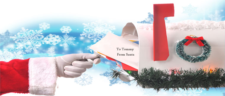 Receive A Personal Letter From Santa