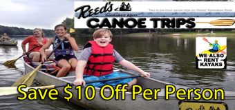Reed's Kankakee River Canoe Trips Coupon